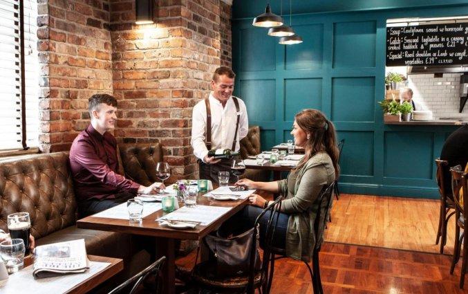 Restaurant van Hotel The Address Connolly in Dublin