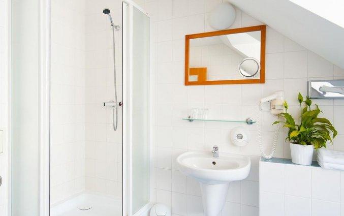 Badkamer van hotel Cloister Inn Praag