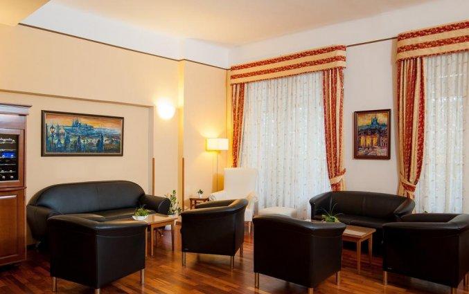Lounge van hotel Cloister Inn Praag
