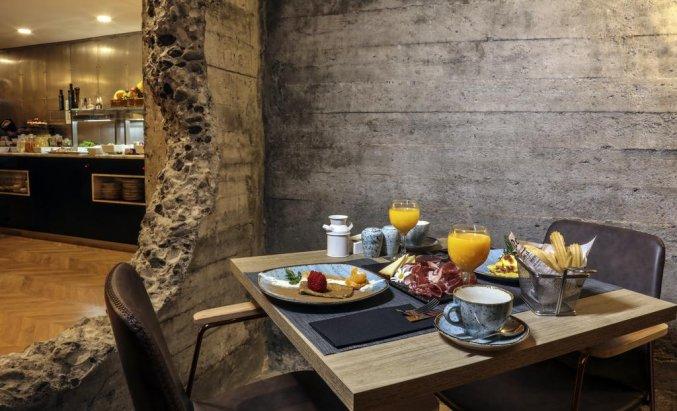 Ontbijt van hotel Design Plus Bex Gran Canaria