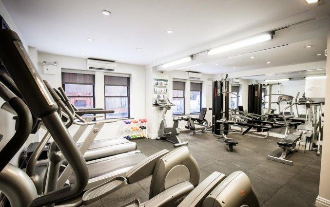 Sportzaal van The Belvedere hotel New York