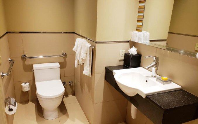 Badkamer van The Belvedere hotel New York
