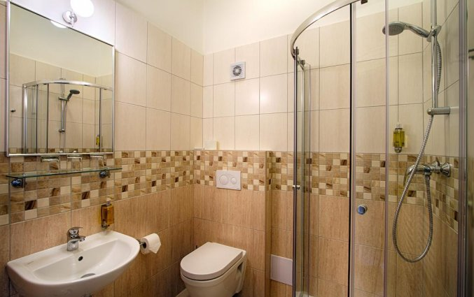 Badkamer van hotel Taurus Praag