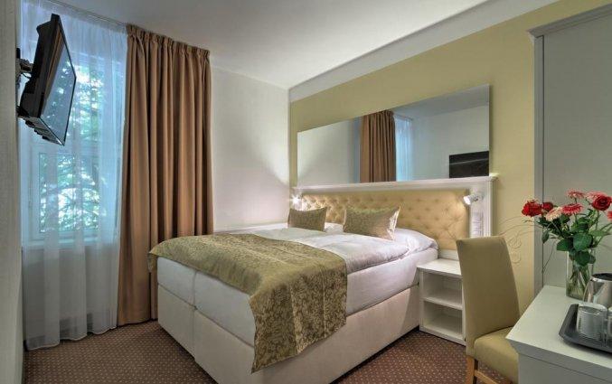 Tweepersoonskamer van hotel Taurus Praag