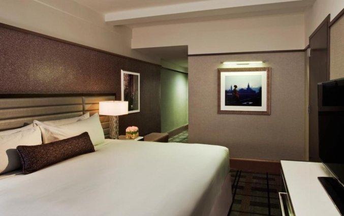 Slaapkamer van Hotel Park Central in New York