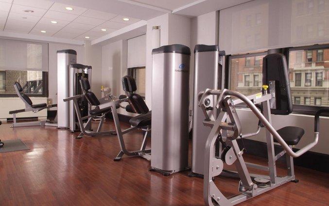 Fitnessruimte van Hotel Park Central in New York