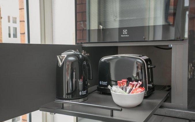 Grafton Street Studios - Koffie- en theefaciliteiten
