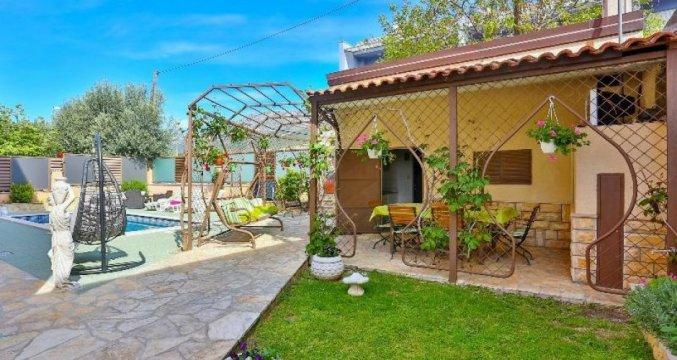 Tuin van Appartementen Ivan in Solin