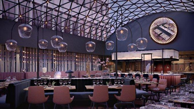 Restaurant van Hotel Scandic Falkoner in Kopenhagen