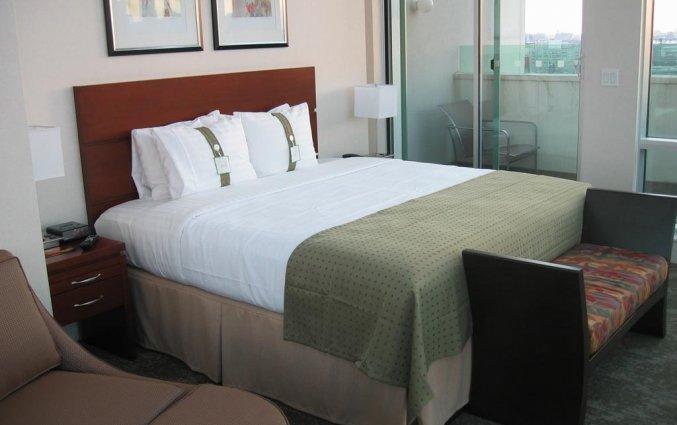 Tweepersoonskamer van  hotel Holiday Inn Long Island City New York