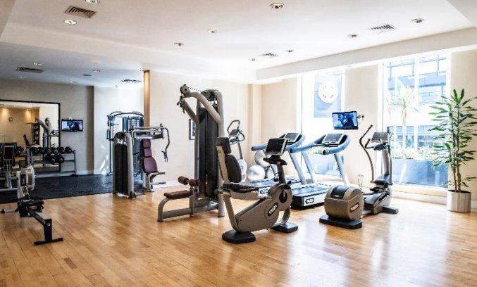 Fitnessruimte van hotel Croke Park in Dublin