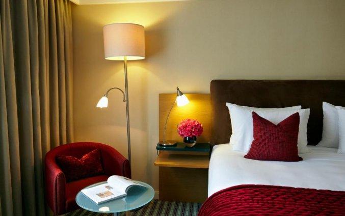 Slaapkamer van hotel Croke Park in Dublin