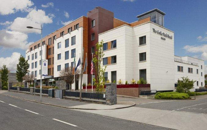 Buitenkant van hotel Croke Park in Dublin