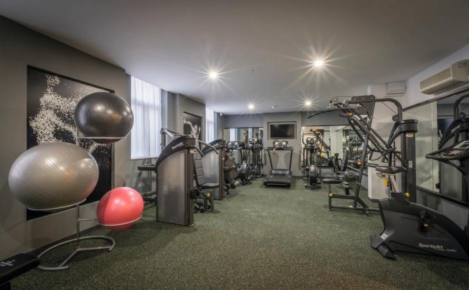 Fitnessruimte hotel Rui Plaza The Gresham in Dublin
