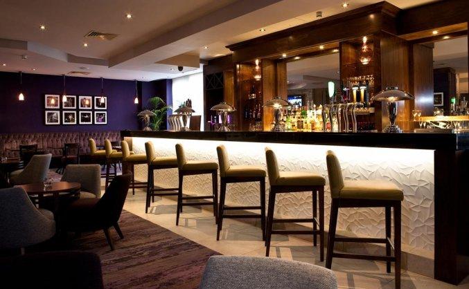 Bar van Hotel Jurys Inn in Dublin