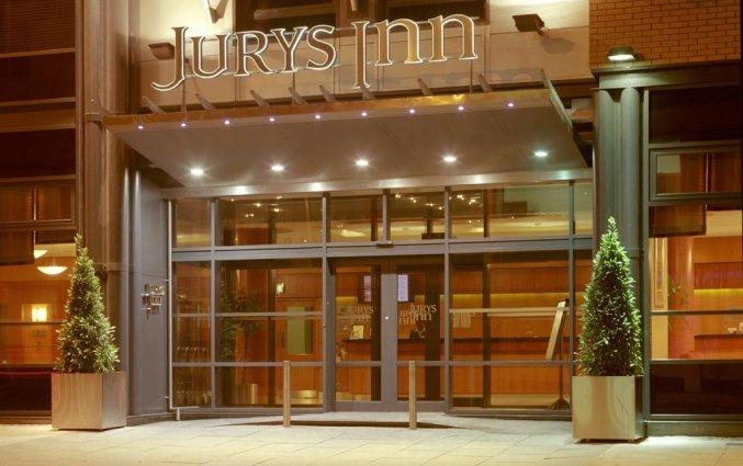 Entree van Hotel Jurys Inn in Dublin