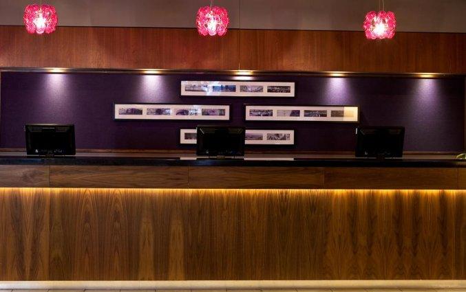 Receptie van Hotel Jurys Inn in Dublin