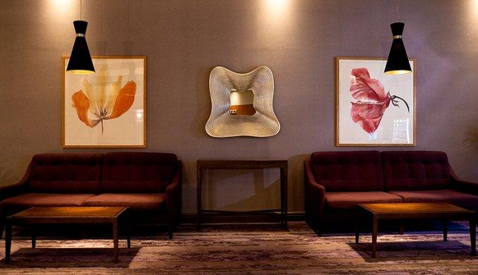 Lounge van Hotel Jurys Inn in Dublin