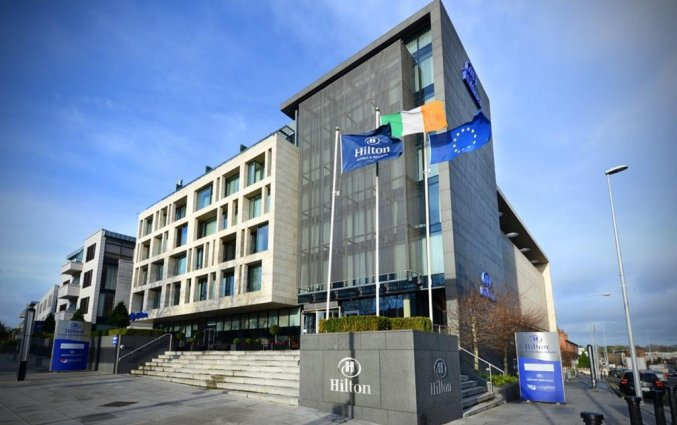 Gebouw van hotel Hilton Kilmainham in Dublin
