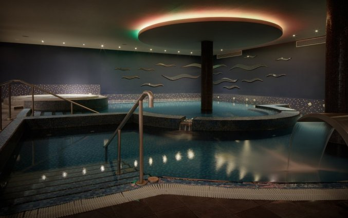 Zwembad van hotel Hilton Kilmainham in Dublin