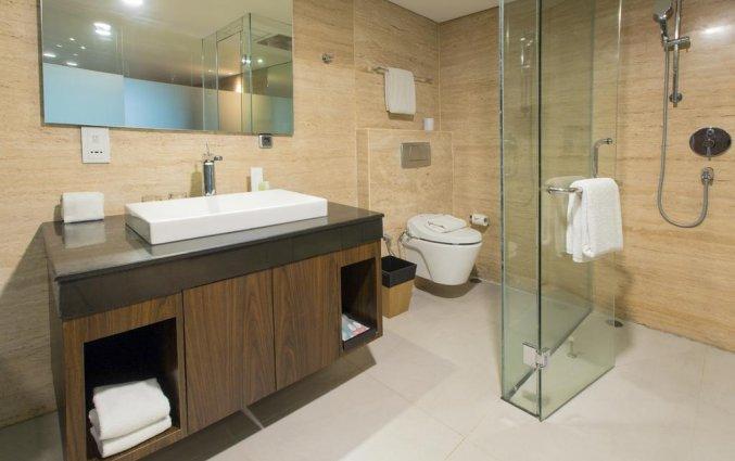 Badkamer van hotel Vin Sky in Bali