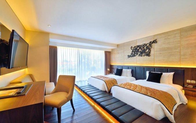 Slaapkamer van hotel Vin Sky in Bali