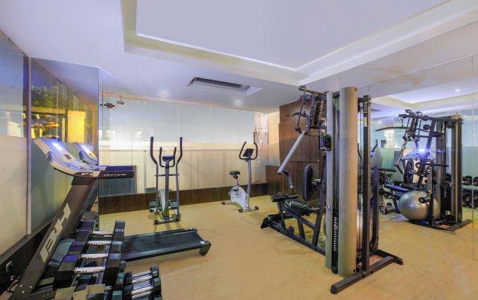 Fitnessruimte van hotel Vin Sky in Bali