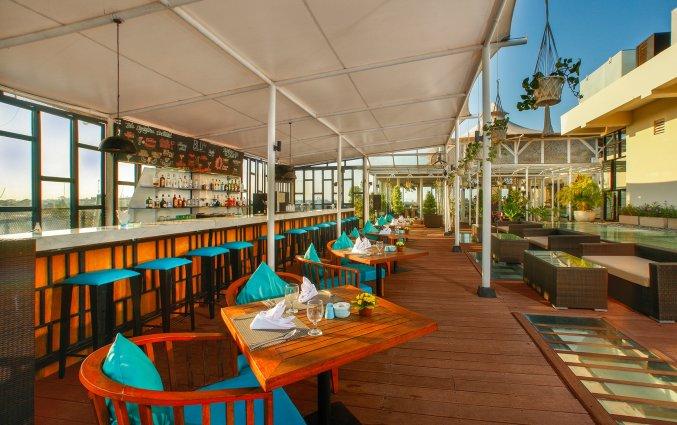 Lounge van hotel Vin Sky in Bali