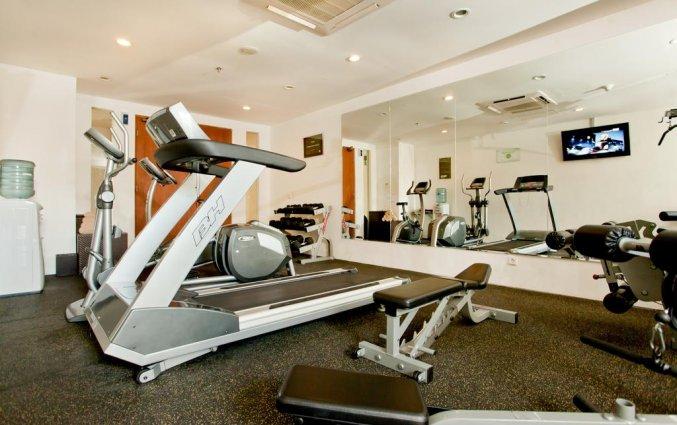 Gym van hotel The Haven Bali Seminyak