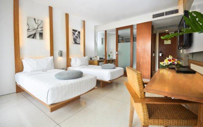 Tweepersoonskamer van hotel The Haven Bali Seminyak