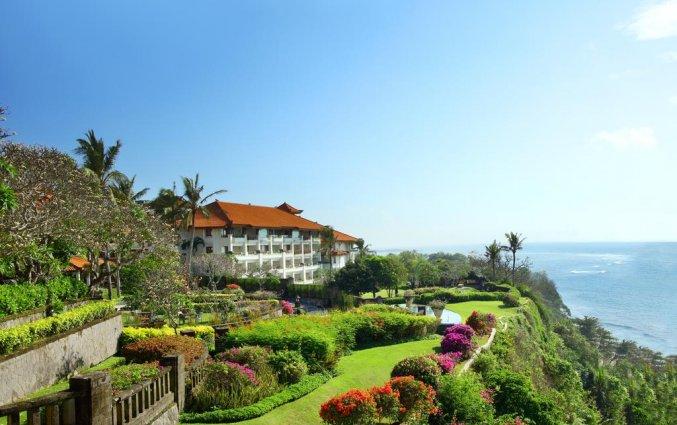 Zijaanzicht van Resort Hilton Bali