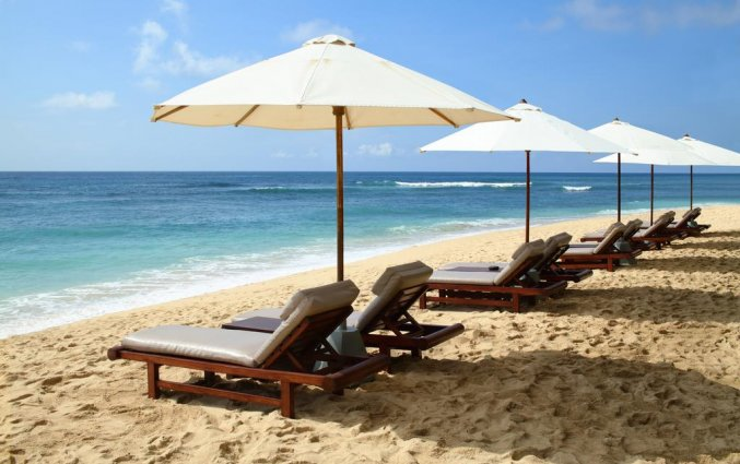 Strand van Resort Hilton Bali