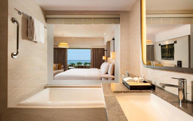 Badkamer van Resort Hilton Bali