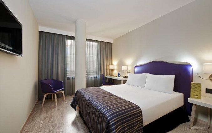 Tweepersoonskamer van hotel Exe Moncloa Madrid
