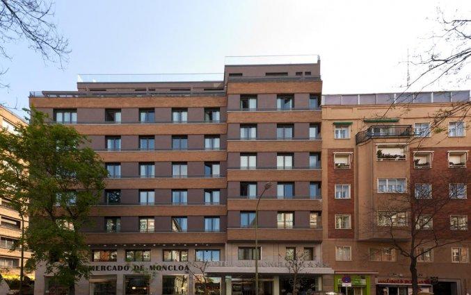 Vooraanzicht van hotel Exe Moncloa Madrid
