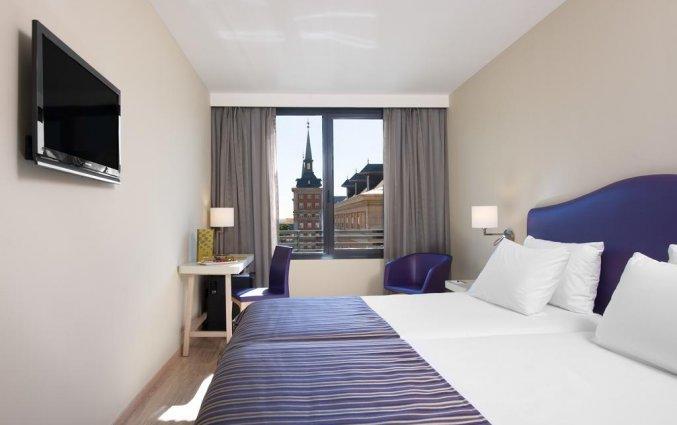 Tweepersoonskamer van Hotel Exe Moncloa in Madrid