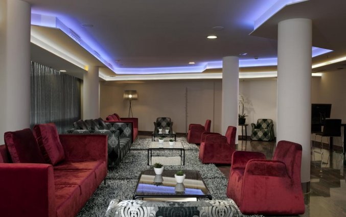 Zithoek van hotel Exe Moncloa Madrid