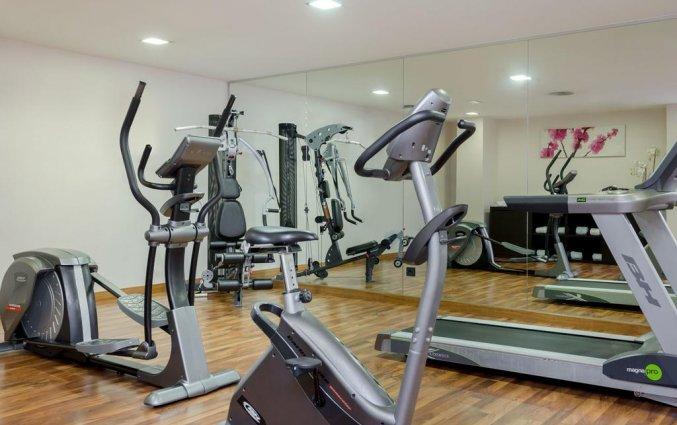 Sportschool van hotel Exe Moncloa Madrid