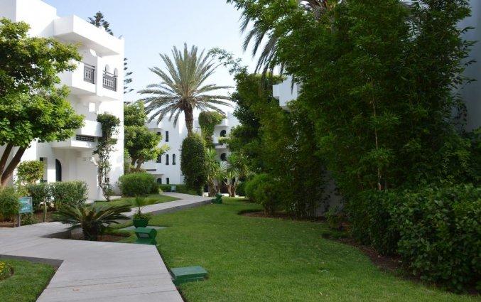 Buitenkant van Les Jardins d'Agadir in Agadir