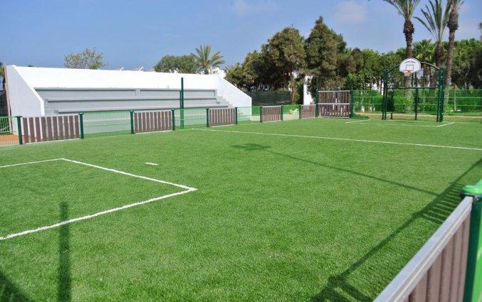 Voetbalveld van Les Jardins d'Agadir in Agadir