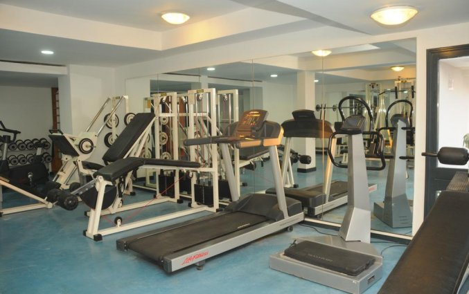 Fitnessruimte van Les Jardins d'Agadir in Agadir