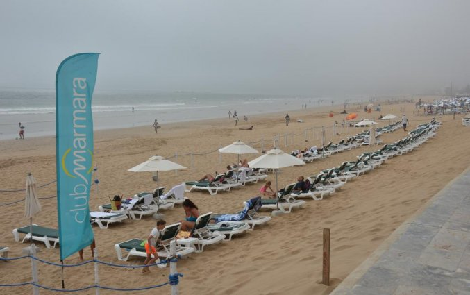 Strand van Les Jardins d'Agadir in Agadir