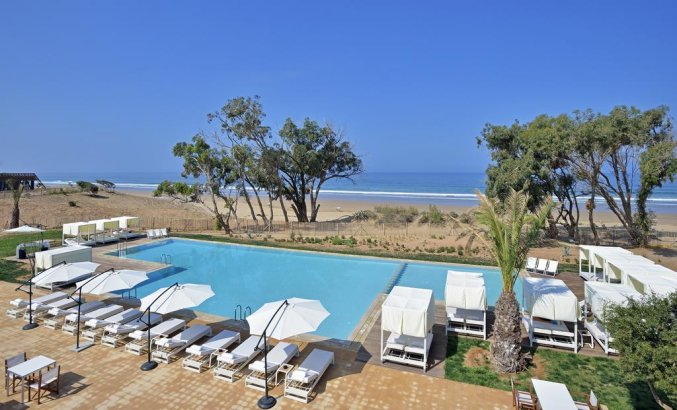 Sol House Taghazout Bay - Zwembad