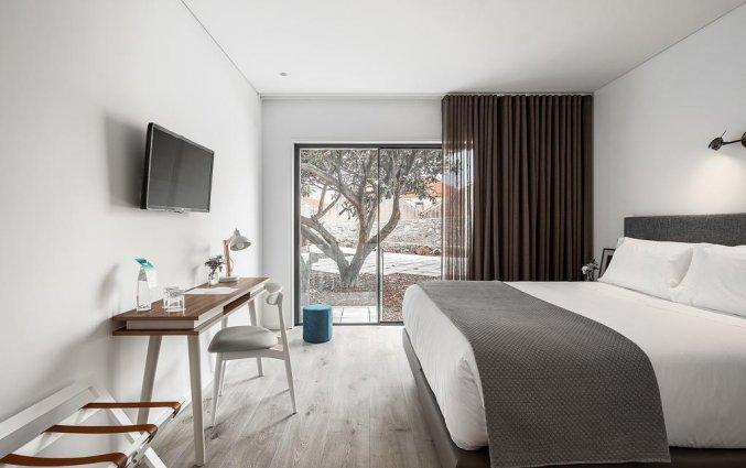 Slaapkamer van hotel Caléway in Porto