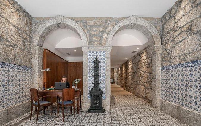 Receptie van hotel Caléway in Porto