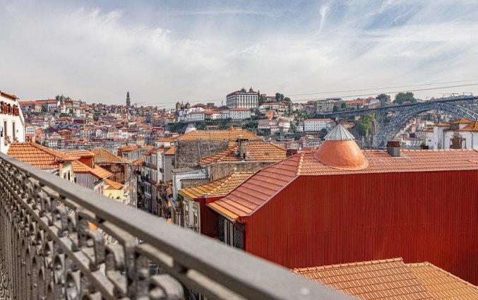 Uitzicht van hotel Caléway in Porto
