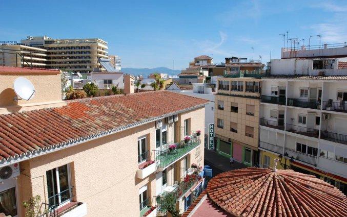 Uitzicht van hotel el pozo in costa del sol
