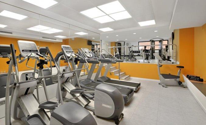 Fitnessruimte van hotel Melia Costa del Sol in Torremolinos