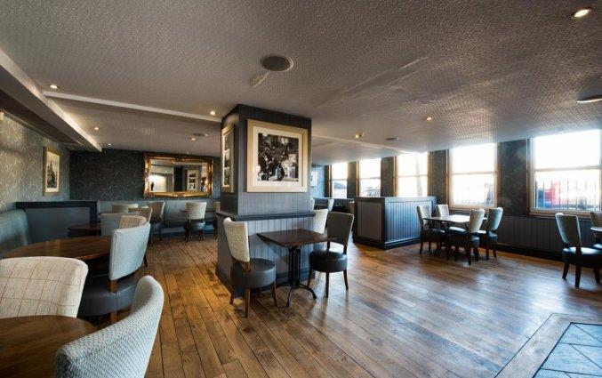 Lounge van hotel Jury's Inn in Edinburgh