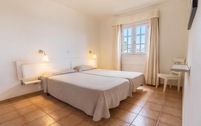 Slaapkamer van appartementen Las Gaviotas in Lanzarote